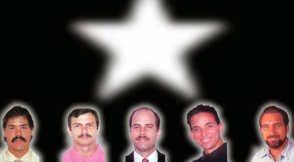 LIBERACIÓN: LOS CINCO VOLVIERON