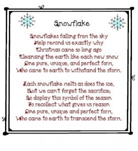 Short Snowflake Poems Pictures to Pin on Pinterest - PinsDaddy