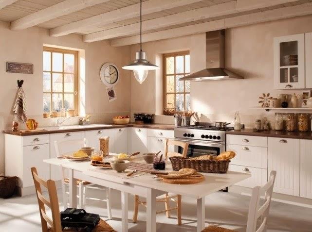 COCINA DE ESTILO CAMPESTRE MODERNO FOTOS  - fotos de muebles de cocina estilo campo