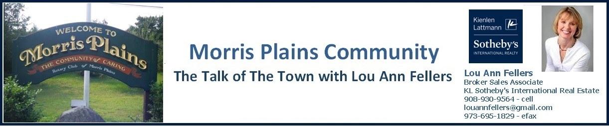 Morris Plains, NJ ~ The Talk of The Town