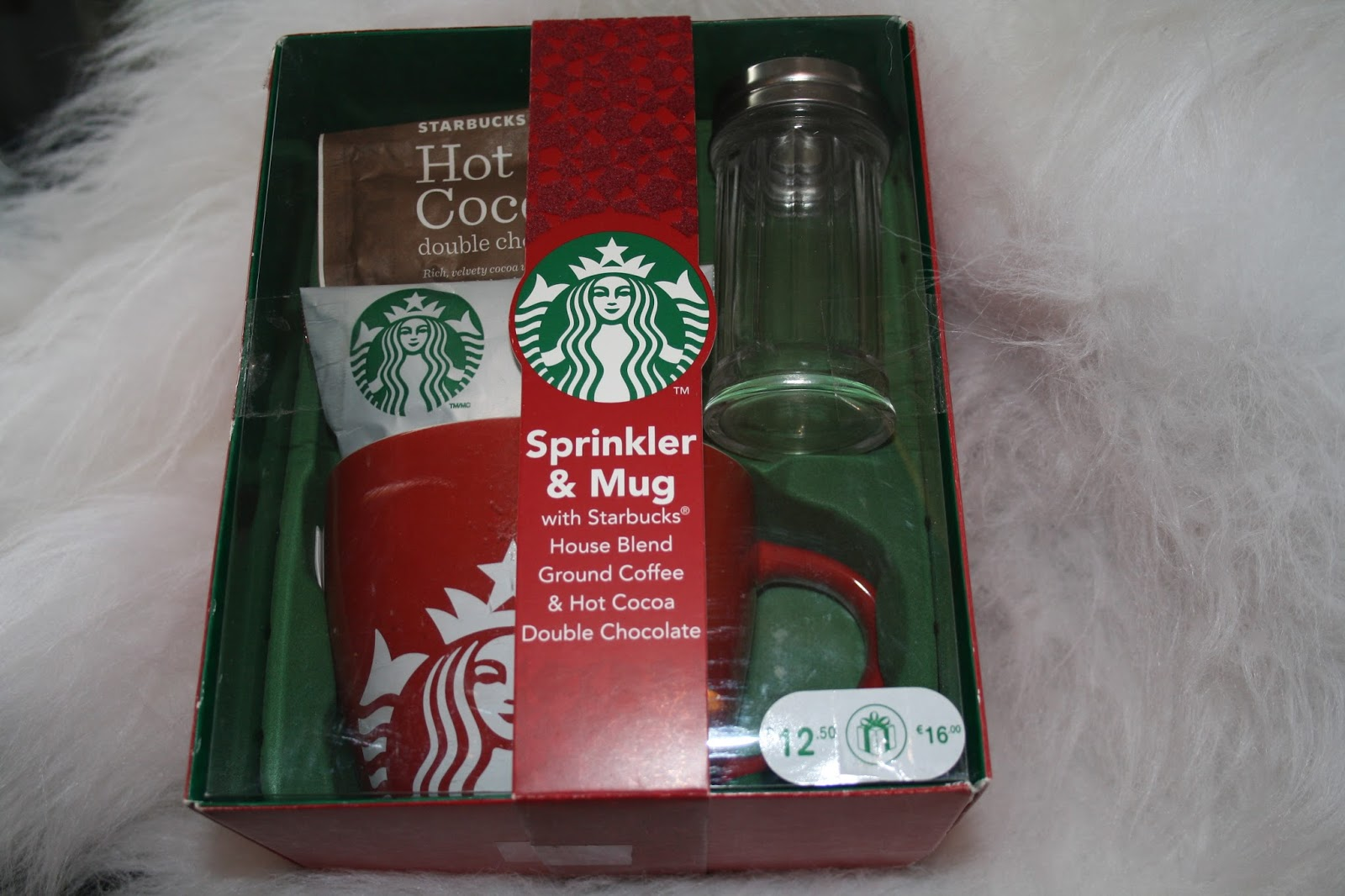 Christmas Gift Ideas For Him #2   Starbucks Sprinkler U0026 Mug
