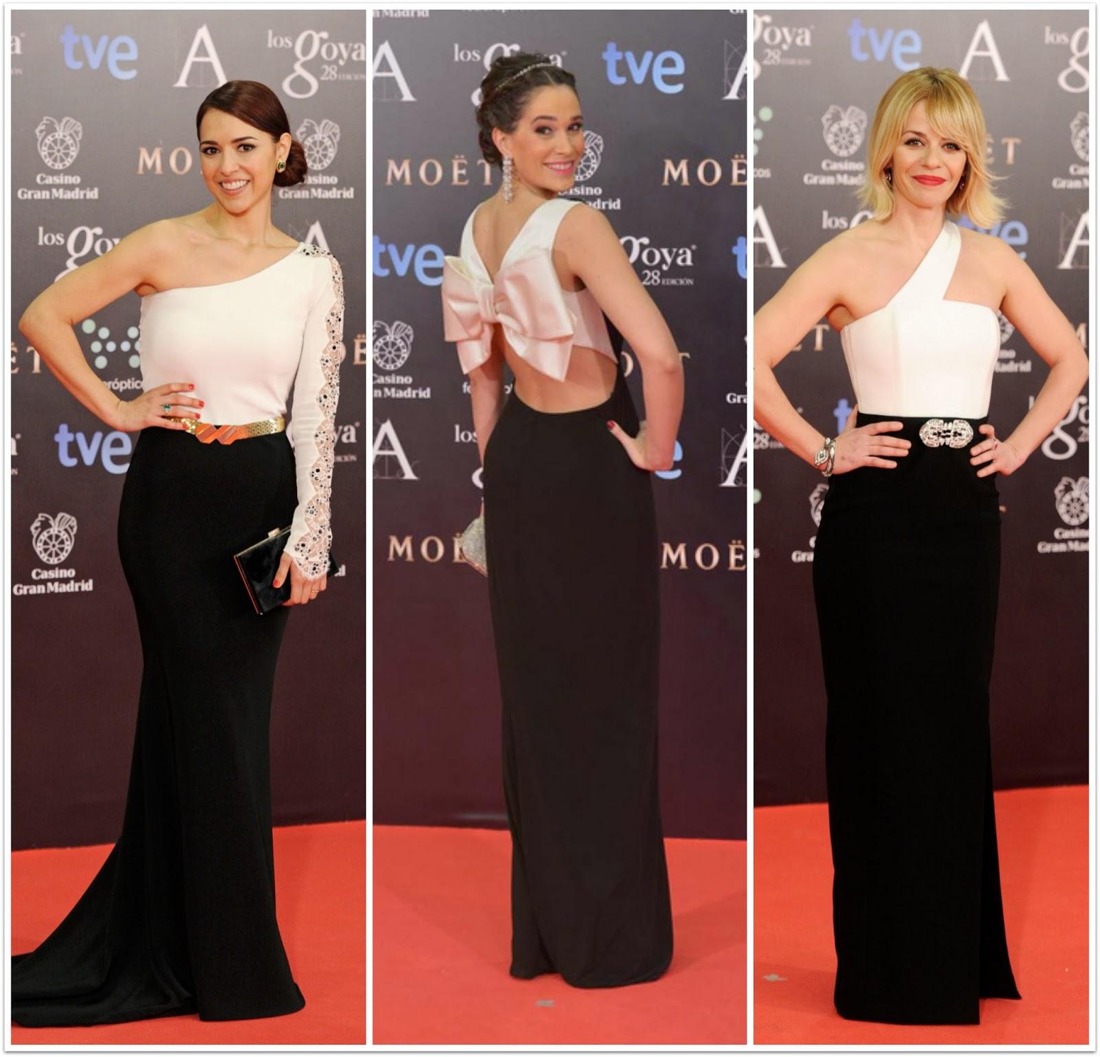 Black and White style Los Goya 28 - 2014 - Cristina Bordo, Celia Freijeiro y María Dánez