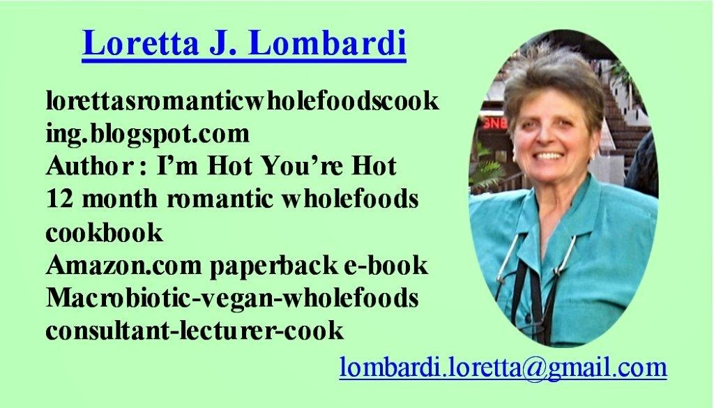 Loretta's Business Card