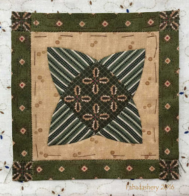 Dear Jane Quilt - Block E2 Merry May