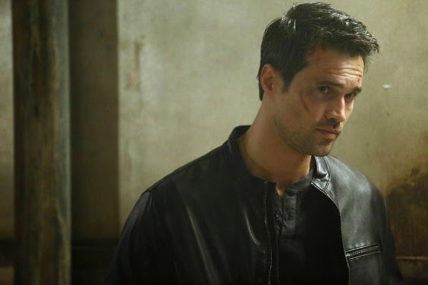 Brett Dalton as Grant Ward in Agents of S.H.I.E.L.D.
