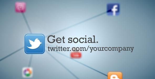 Social Media Network Animation