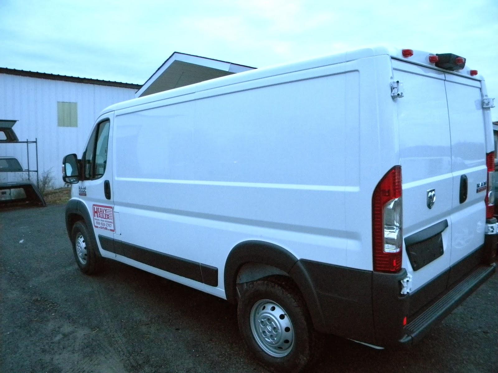 dodge ram promaster van upfit heavy hauler trailers. Black Bedroom Furniture Sets. Home Design Ideas
