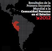 1era Encuesta mundial a la Comunidad peruana en el exterior
