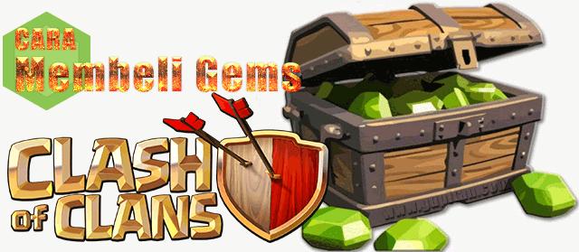 Cara Membeli Gems Clash Of Clans Dengan Kartu Debit