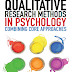 Qualitative Research Methods in Psychology: Combining Core Approaches - Free Ebook Download