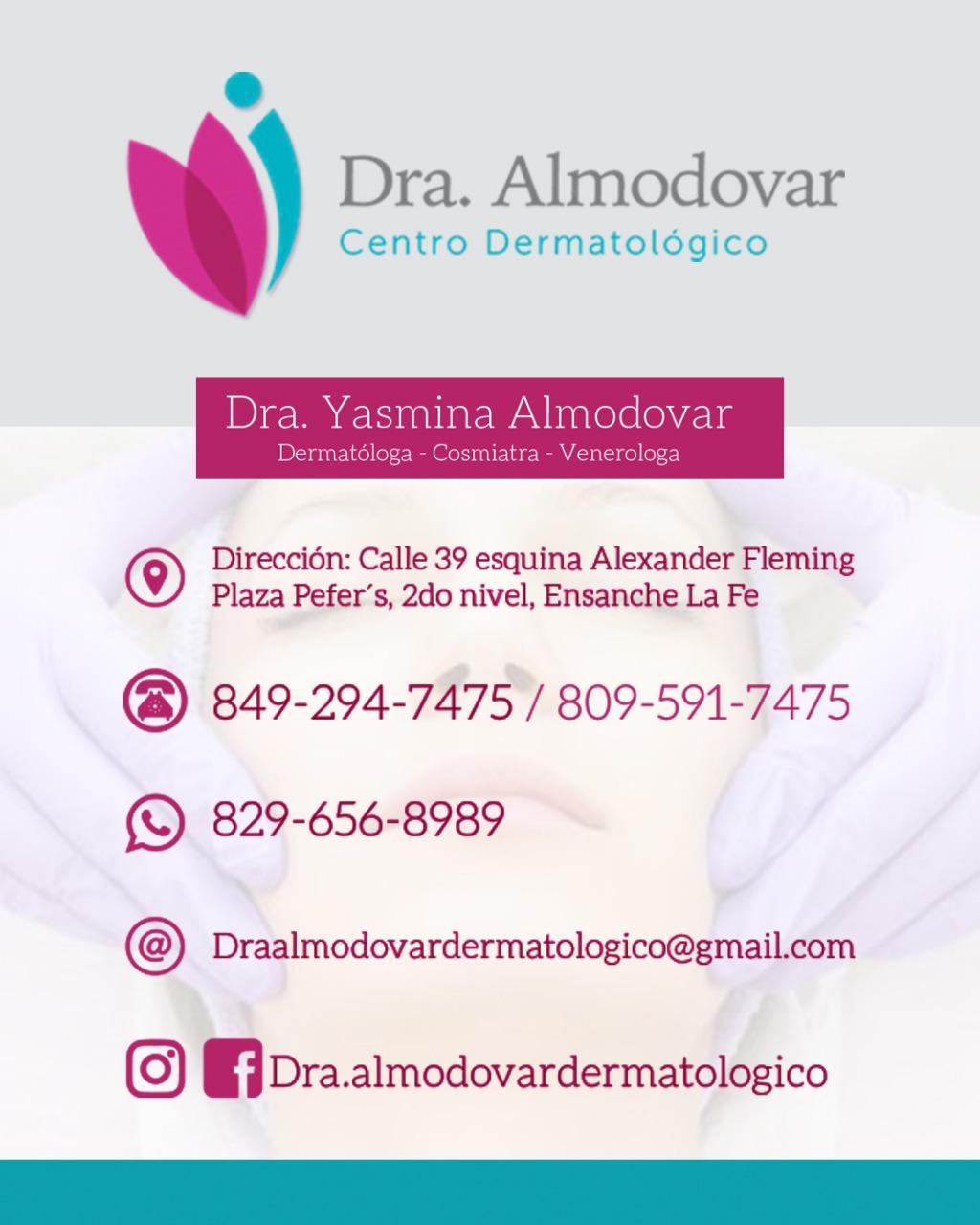 Dra. Almodovar, Centro Dermatológico