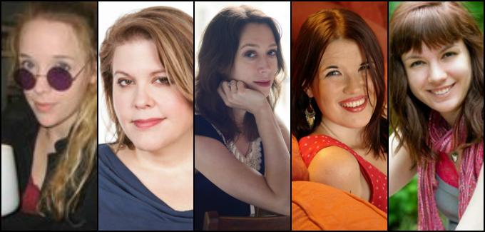 Kelly Creagh, C.J. Daugherty, Marie Ruthkoski, Sarah Rees Brennan, Sara Raasch
