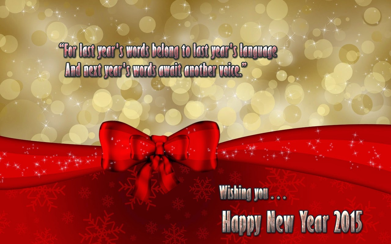 New Year Wishes Holiday Cards 2015