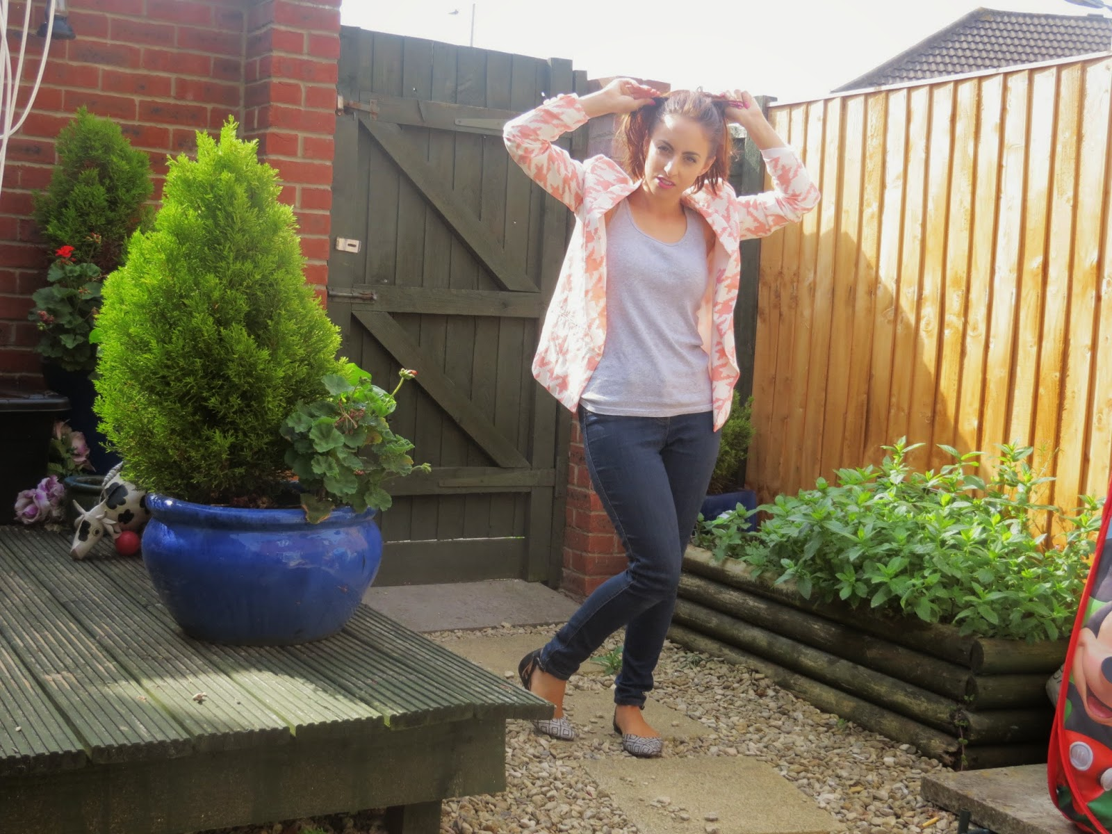 Miss guided, Jacket, coral, summer, ootd, outfit inspiration, outfit, matalan, shoes, pretty, primark, next, fashion, fblogger