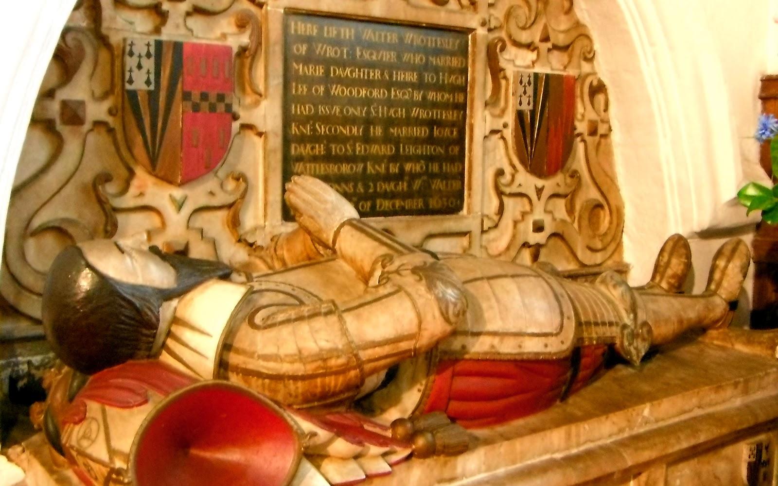 Sir Walter Wrottesley tomb, Codsall