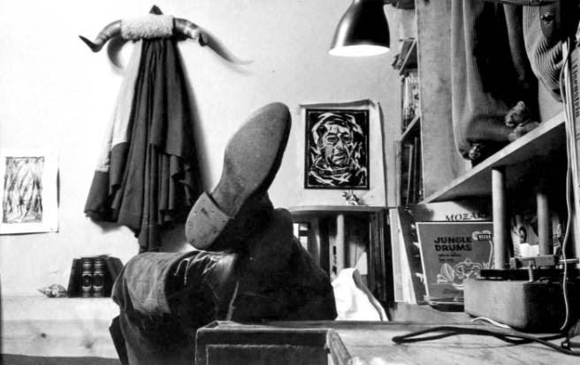 James Dean und seine Studentenbude in New York