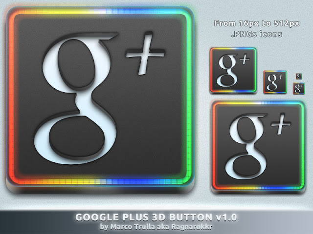 Google+ Icons Download by ragnarokkr79