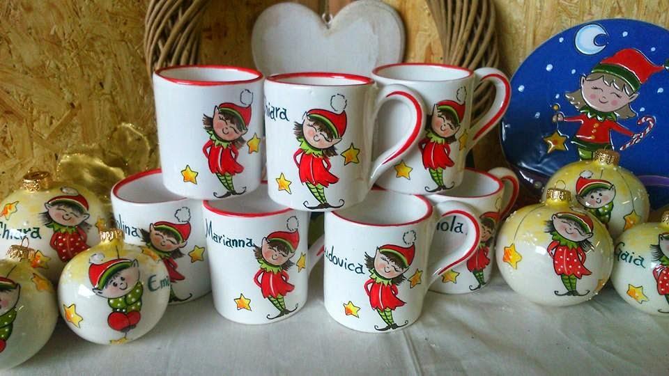 Ceramica come mestiere regalo di natale tazze mug for Tazze da regalare a natale