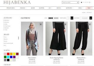 busana muslim hijabenka