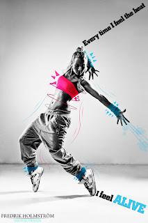 hd hip hop graphic arts - break - dancer wall