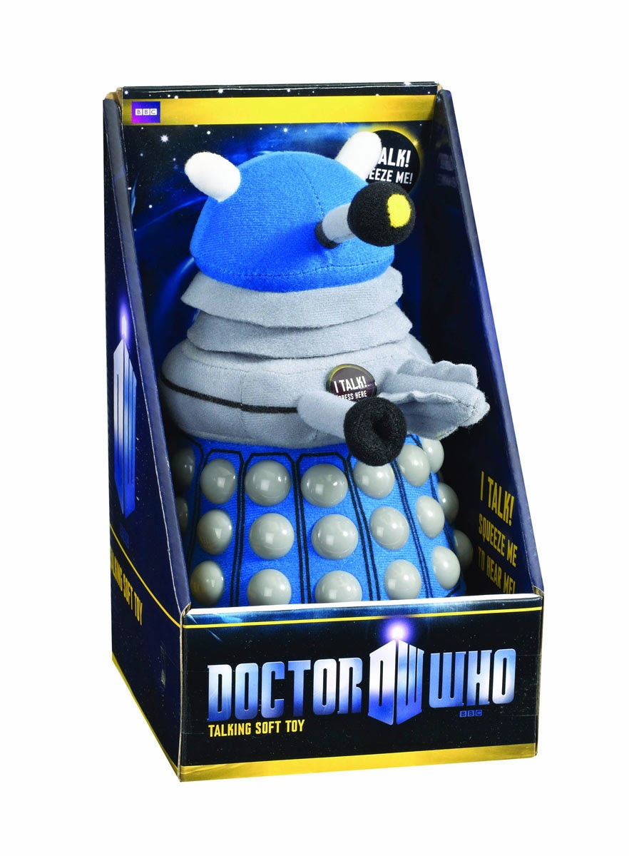 Peluche Dalek Azul con sonido