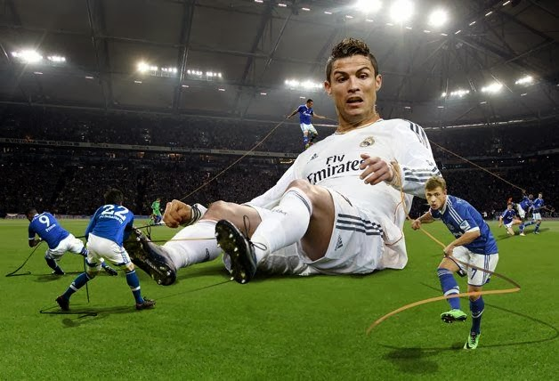 Cristiano Ronaldo is Ready to Play Against Schalke 04