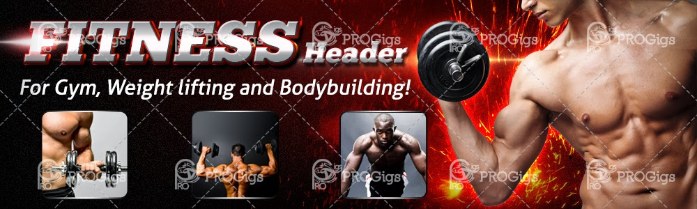 Fitness Website Header