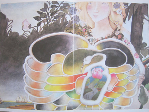 Ilustración de Etienne Delessert para La Bella y la Bestia - Cine de Escritor