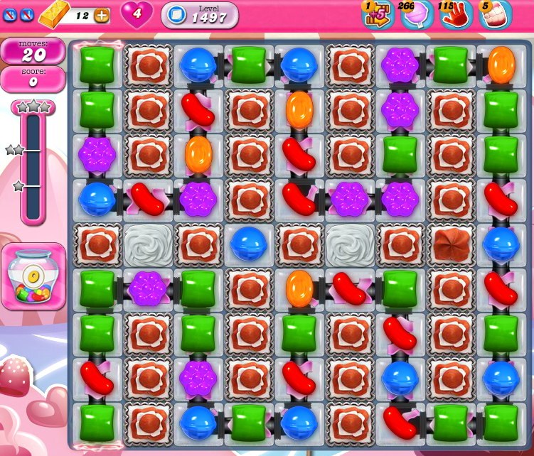 Candy Crush Saga 1497
