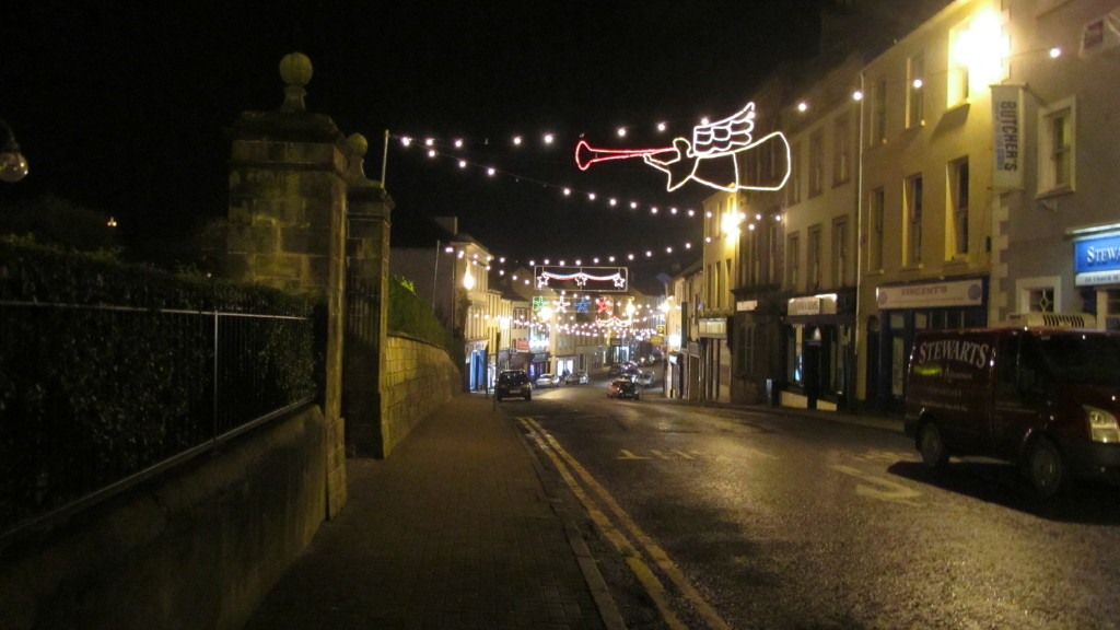 NB The Puzzler: 12th - 21st December. Christmas lights in Enniskillen and Bridge dinners.