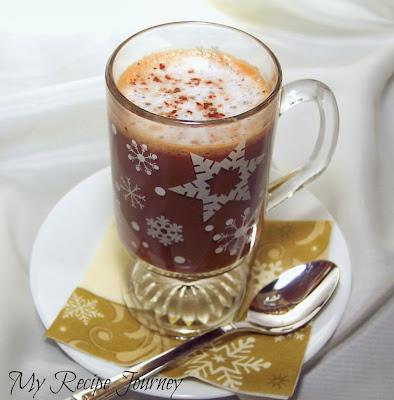 Rum Truffle Mocha Hot Drink (Skinny Style)