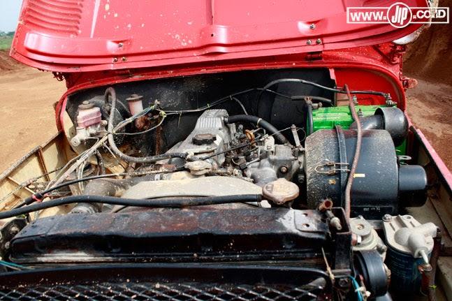 Engine Swap Toyota Fj40 1f With 14b Diesel Engine Dosop