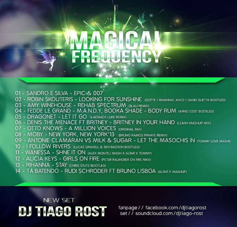 DJ Tiago Rost - MAGICAL FREQUENCY (BackCover)