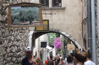 Vence st Paul, Cote d'Azur, quaint French hilltop village - hidden gem