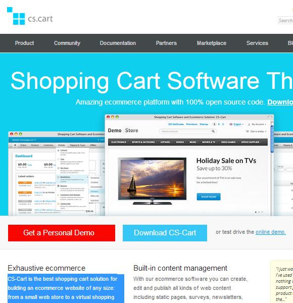 Ecommerce Website Name : CS Cart