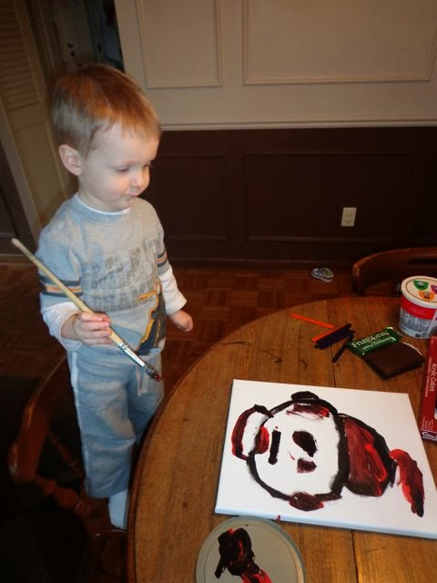 Paint the Cat in the Hat via www.happybirthdayauthor.com