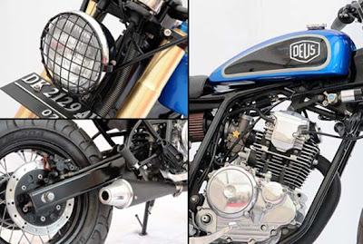 Modifikasi Yamaha Scorpio on Artikel Modifikasi Yamaha Scorpio 2012   Bobber Semi Scrambler Ini