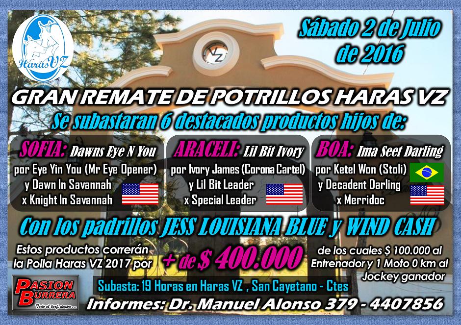 REMATE HARAS VZ - 18 DE JUNIO