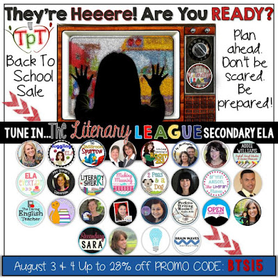Back to School Sale - The Literary League