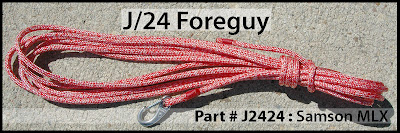 Annapolis Performance Sailing APS Rigging J24 Foreguy Samson MLX