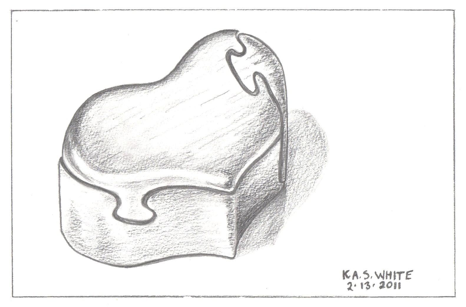 Heart Shaped Box Drawing Heart Shaped Box