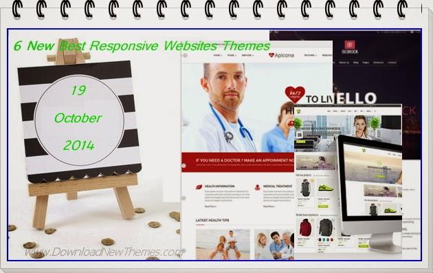 Prmeium New Best Responsive Websites Themes