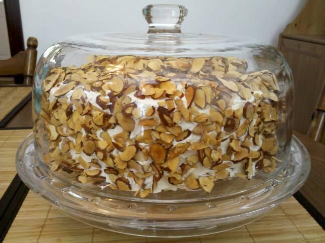 Gluten-Free Burnt Almond Torte