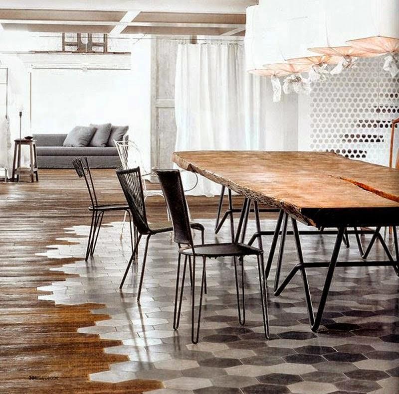 de la madera clara pero no tiene el aspecto natural y acogedor todo lo contrario los suelos blancos dan al hogar un look ms sofisticado y artificial