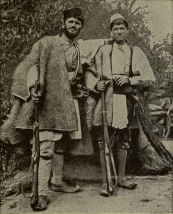 Types of Albanian Mountaineers