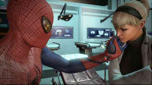 Screen Shot Of The Amazing Spiderman (2012) Full PC Game Free Download At Downloadingzoo.Com