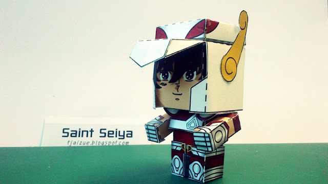 Saint Seiya Paper Toy