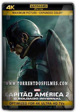 Capitão America 2 (2014) Torrent - BluRay 4K 720p Dual Áudio 5.1