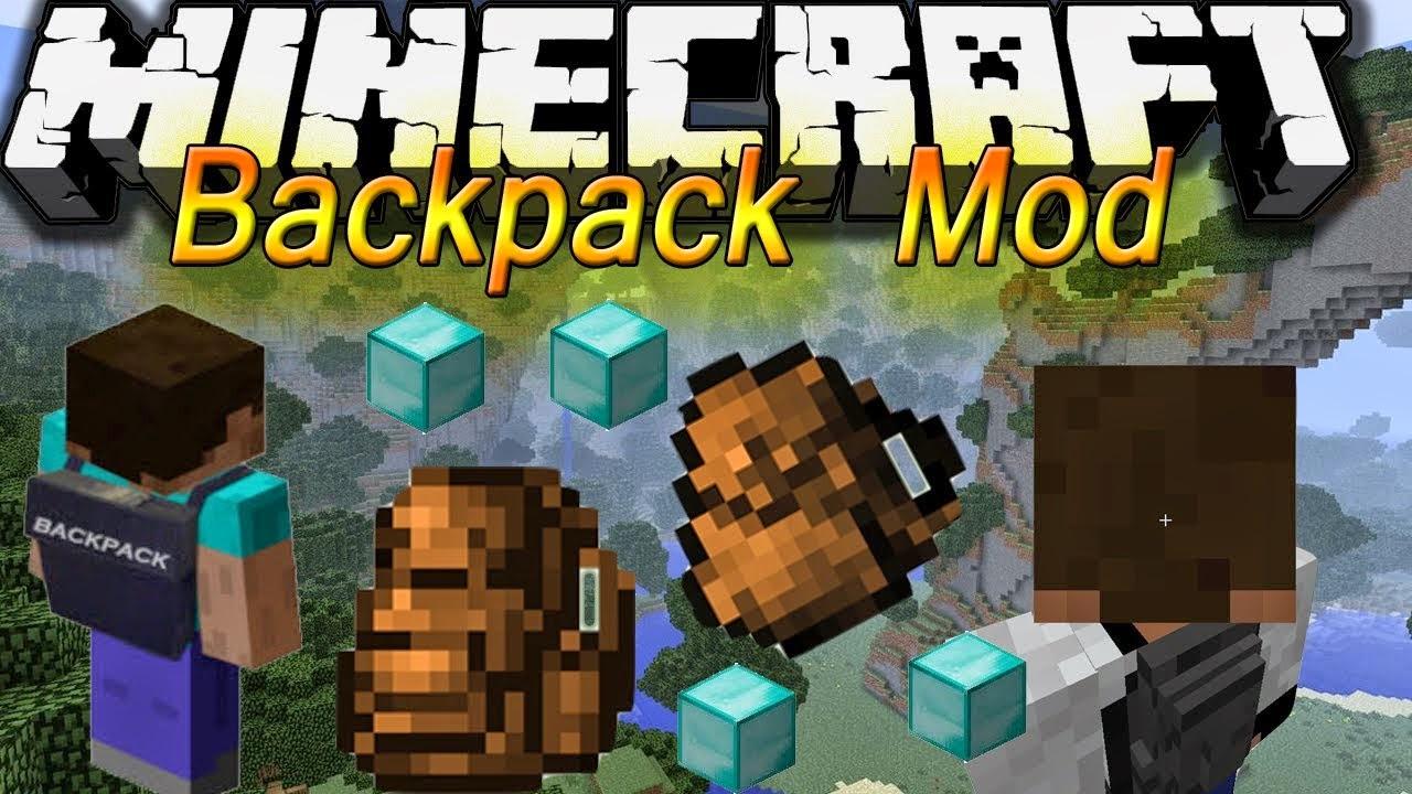 Backpacks Mod 1.8.8