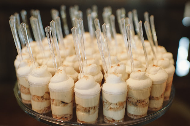 Minnesota Barn Wedding Dessert Shooters